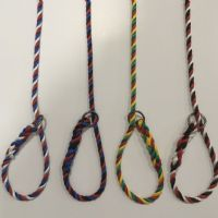 Blue, Black, Red Tri colour Slip Lead
